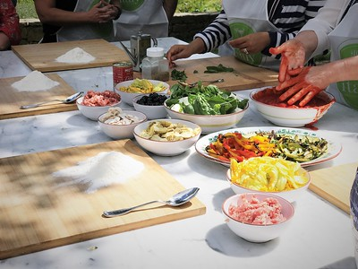 Cooking School in Tuscany