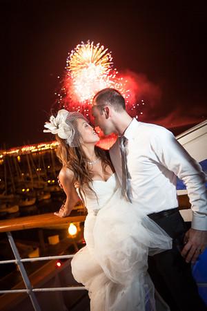 Diamond and Tea's Wedding at Columbia Yacht Club Chicago!