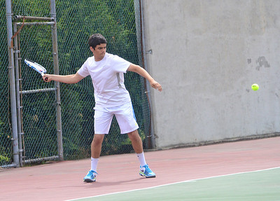 2013 BBA Boys Tennis Playdown vs CVU photos by Gary Baker