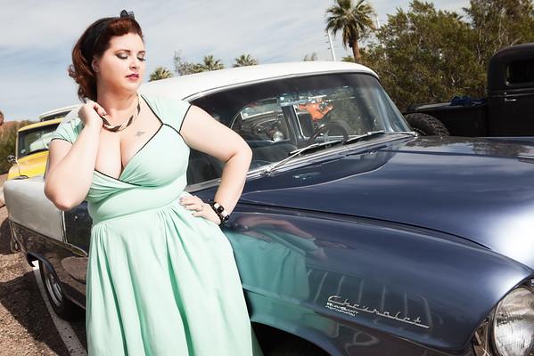 Holly Darling Car Show