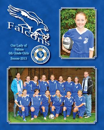 2013 soccer 6th Gr Girls