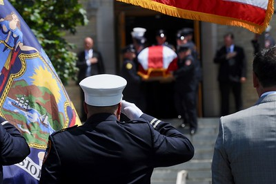 8/1/18 - George Scheer Funeral