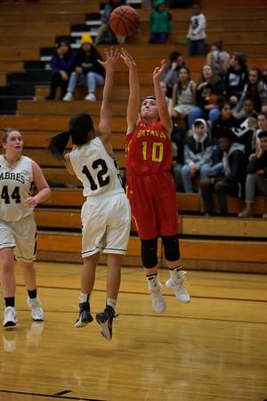 Batavia Girls Basketball 12/7/17