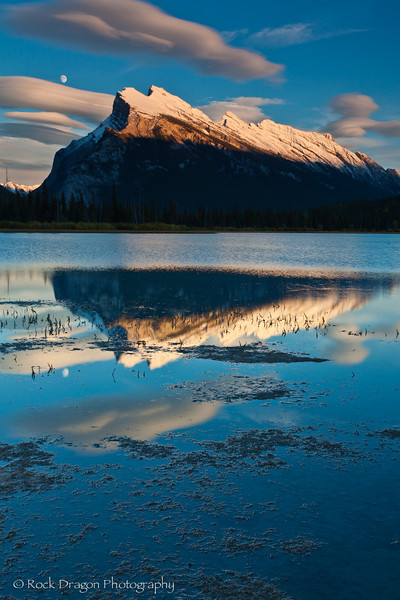 Vermillion Lakes in Banff National Park
