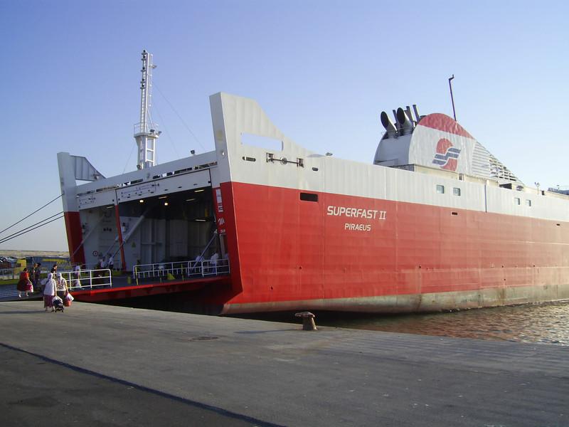 2012 - F/B SUPERFAST II in Bari