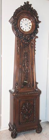 VR-299 - Exquisitely carved Floor Standing Regulator of 2 month duration by Halbkram