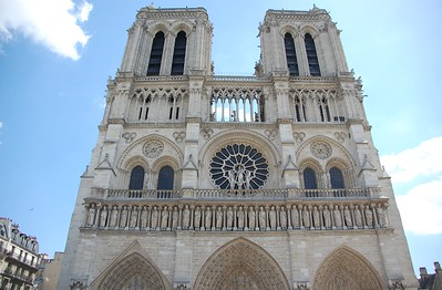 Norte Dame, Paris, France