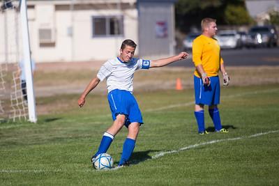 RCS Varsity Boys' Soccer vs HR 09.18.12