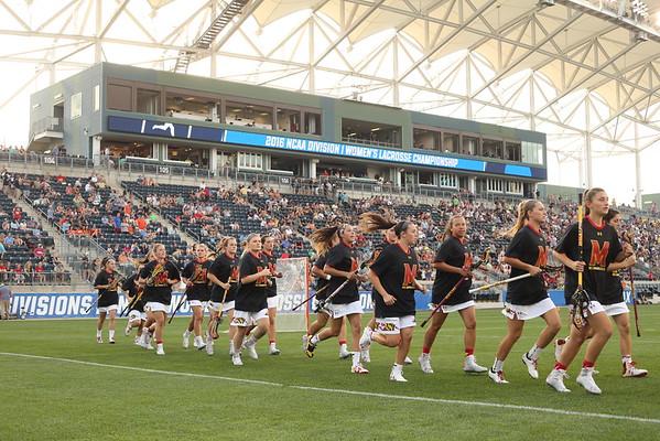 NCAA Women's Lax Semis: Terps vs. Cuse