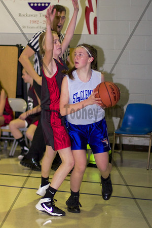 St. Clements Girls Varisty A 120113