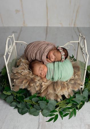 Twins: Micah + Hannah