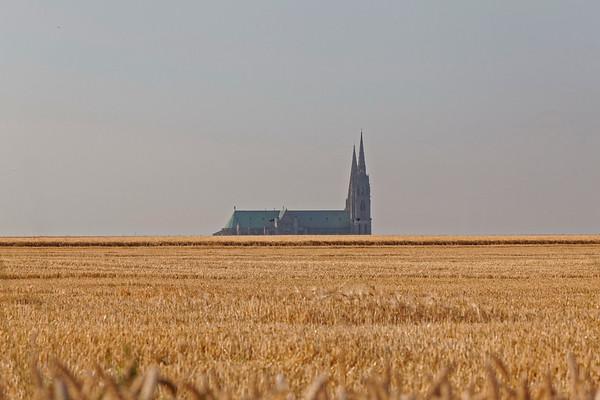 Cathédrale de Chartres - Vue générale
