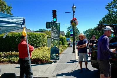 Oak Bay Collector Car Show - Electric Avenue- 2017