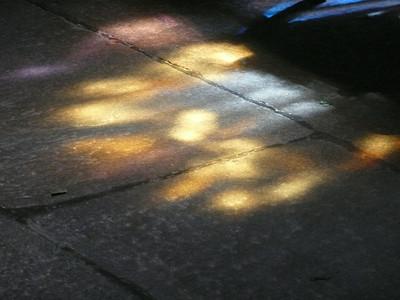 Lumière au sol