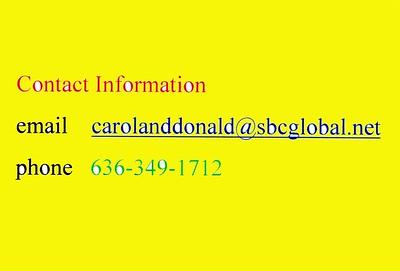 Contact Carol and Don