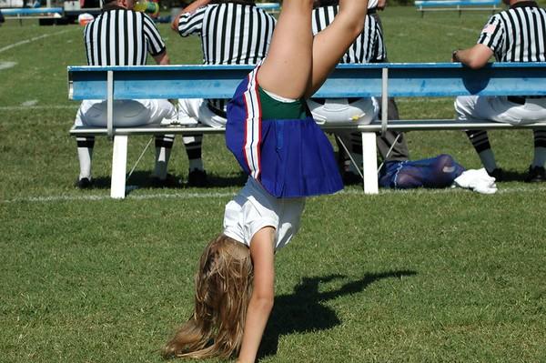 A Cheerleader at FUMA!