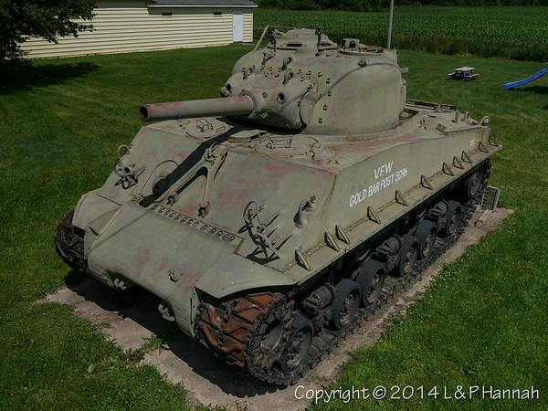 VFW Post 5096 - Custer, MI - M4A3(105)