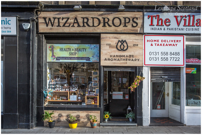 Wizardrops shop, Brunswick Street