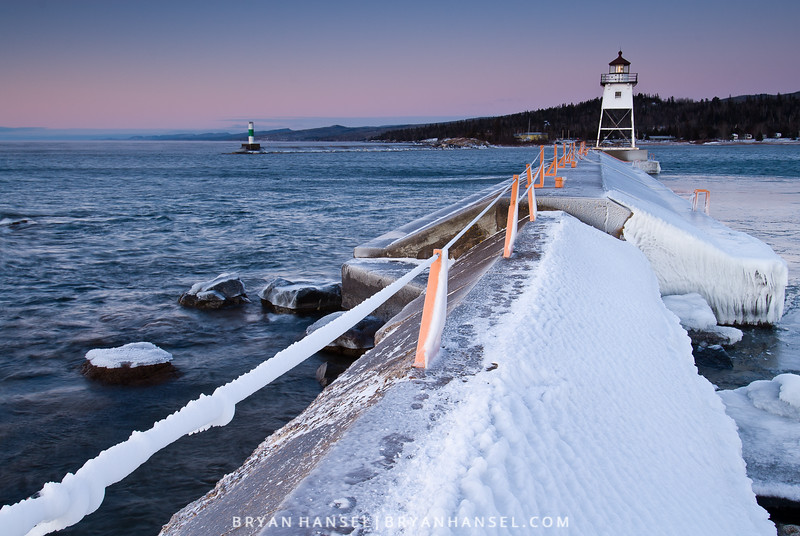 Winter Walk to Lighthouse