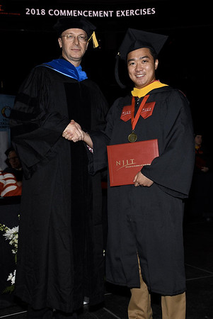 Michael's Graduation New Jersey Institute of Technology 2018