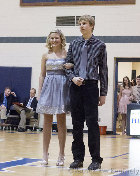 2013-02-08 Hillsdale Academy Homecoming Court