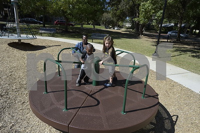 10/19/15 Children at Bergfeld Park Playground by Andrew D. Brosig