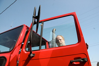Unimog glass replacement by David Dunn