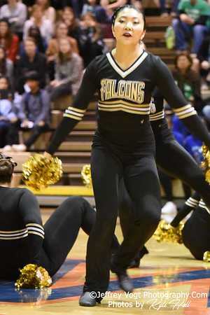1-05-2019 Poolesville High School at Watkins Mill High School 2nd Annual Poms Invitational at Watkins Mill High School, Photos by Jeffrey Vogt Photography with Kyle Hall,