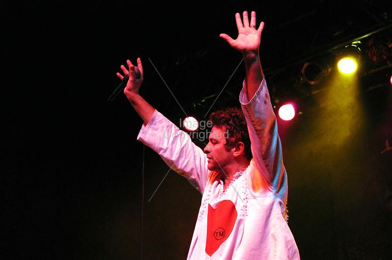 Tim DeLaughter, The Polyphonic Spree, Atlanta, GA. Center Stage, 2012