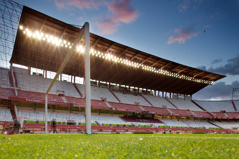 Sanchez Pizjuan stadium, belonging to Sevilla FC, Seville, Spain, 26 April 2009