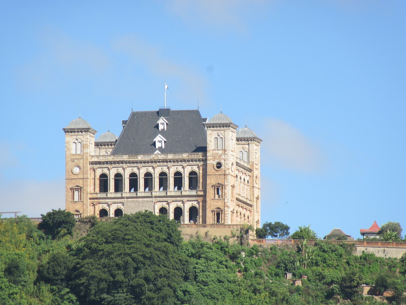 011_Tana. The Rova. Shell of the Royal Palace built in 1864 for Queen Ranavalona II.JPG