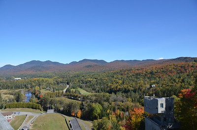 Lake Placid, NY:  Flaming Leaves and US National Championships