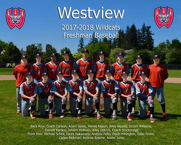 2018 Westview Freshman Baseball