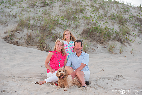 Frisco Family Vacation Portraits