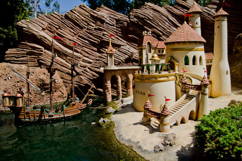 Prince Eric's Castle in Storybookland
