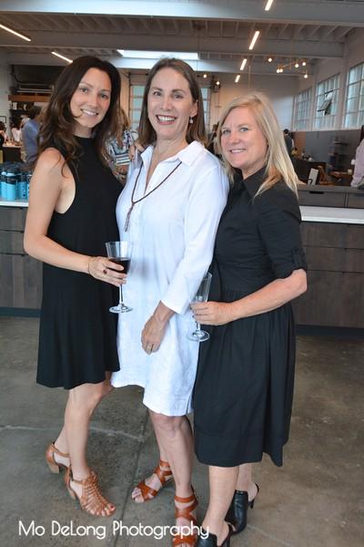 Leela Lindner, Debra Hershon and Dana Horner