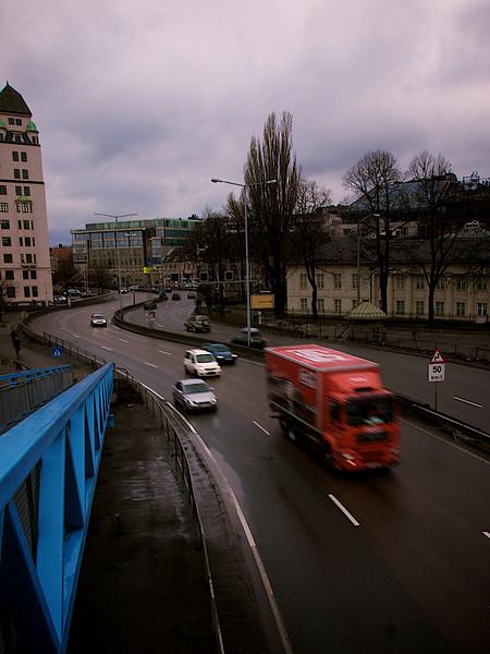 Light Traffic, Havneringen, Oslo. ********** Påsketrafikk, Havneringen, Oslo. (Foto: Geir)