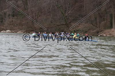 Yorktown Girls Boat 1 (12 Mar 2016)