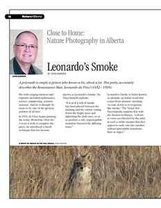 Leonardo's Smoke