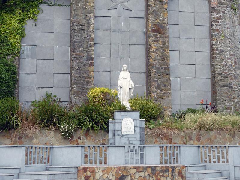 Marian Shrine, Cóbh, County Cork, Eire - August 27, 2013