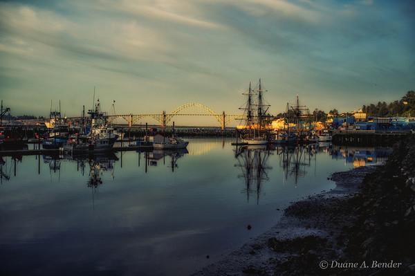 Day 4a - Sunrsie At Newport Bayfront