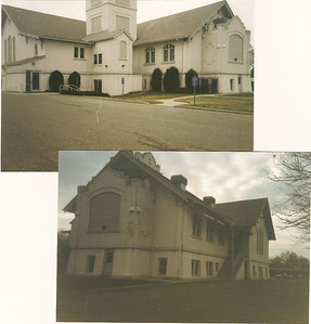 Old Murray Ward-House 6100 South photos before torn down 1999. Used by Grant Ward, Murray 6th Ward, Murray 19th Ward, etc.