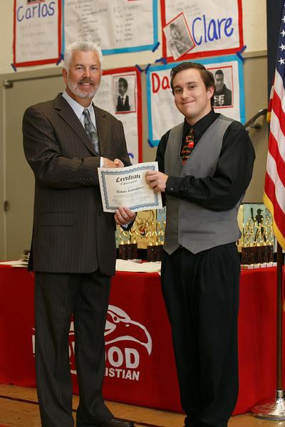 RCS HS Spring Sports Awards - May 19, 2014