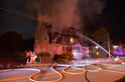 3rd Alarm Structure Fire - 62 South St, Willimantic, CT - 8-7-12