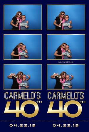 Camilo's 40th Birthday