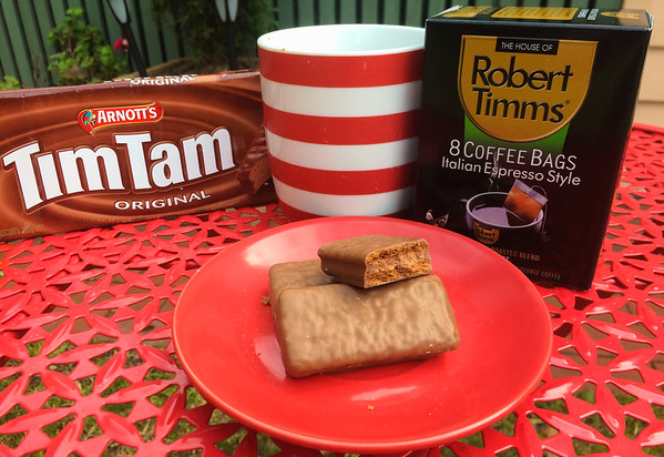 Tim Tams for breakfast