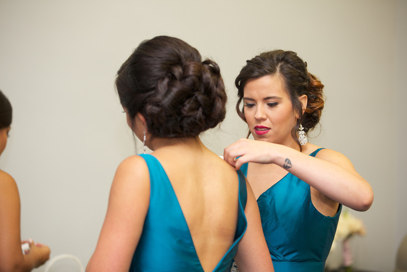 Le Cape Weddings - Chicago Cultural Center Weddings - Kaylin and John - 02 Bride Getting Ready  17