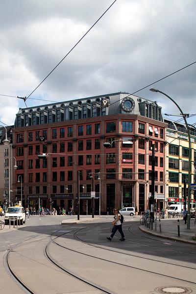 Builidng on Rosenthaler street, Berlin, Germany