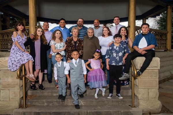 Art and Marie Martinez Family Portrait April 2021