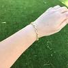 Vintage French Ruby & Diamond Serpent Bracelet 16